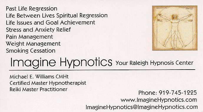 About Mike Williams Certified Master Hypnotherapist and Reiki Master